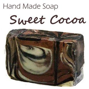 Sweet Cocoa Handmade Home Crafted Body Soap